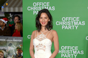 Olivia Munn Mermaid Gown
