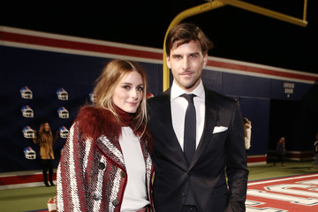 Olivia Palermo Johannes Huebl Tommy Hilfiger Women's Collection - Front Row - Mercedes-Benz Fashion Week Fall 2015