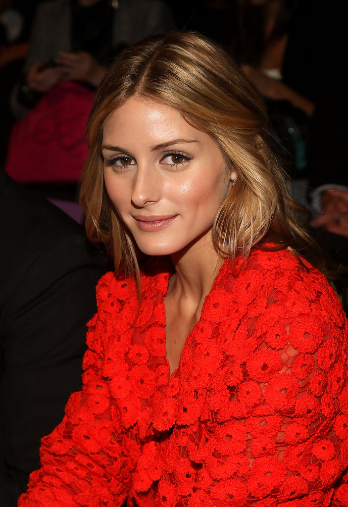 Olivia Palermo Long Center Part Olivia Palermo Hair