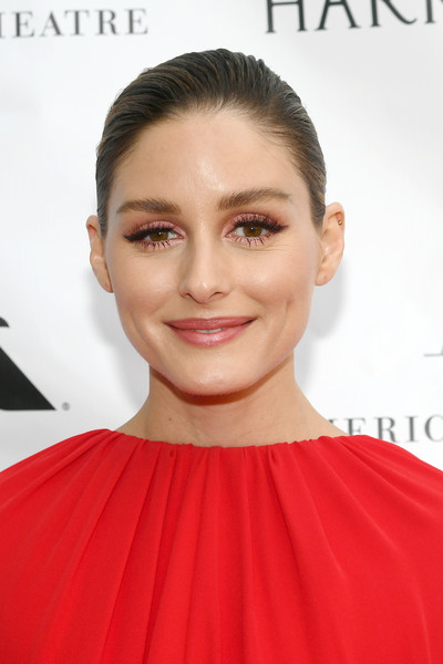 Olivia Palermo Classic Bun [hair,face,hairstyle,skin,lip,eyebrow,chin,shoulder,beauty,cheek,american ballet theatre 2019 spring gala,new york city,metropolitan opera house,olivia palermo]