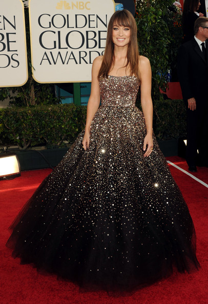Olivia Wilde Beaded Dress