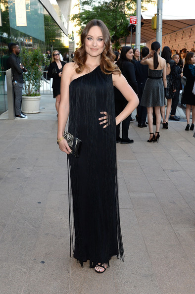 Olivia Wilde One Shoulder Dress
