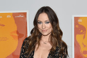 Olivia Wilde Leather Clutch