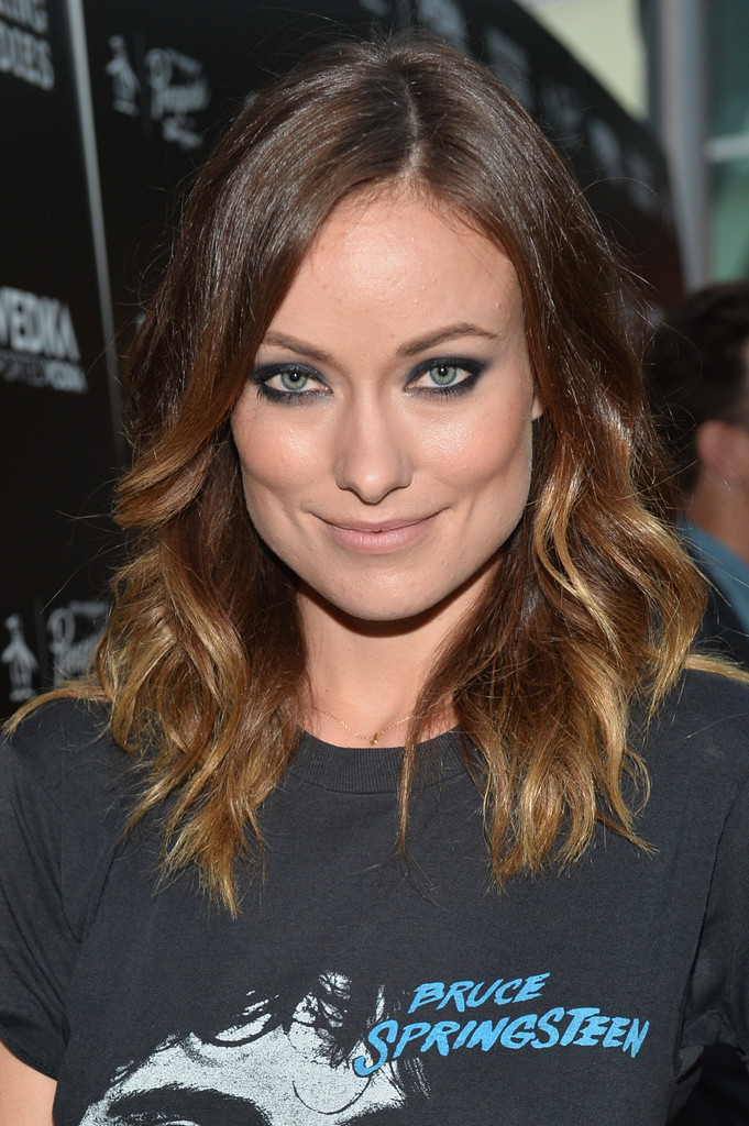 Olivia Wilde Long Wavy Cut Long Hairstyles Lookbook