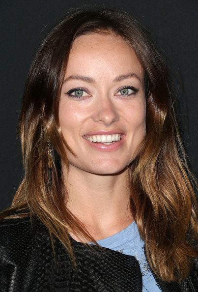 Olivia Wilde Lipgloss [hair,face,hairstyle,eyebrow,chin,beauty,layered hair,brown hair,lip,long hair,arrivals,olivia wilde,el rey theatre,los angeles,california,myspace,event,myspace event]