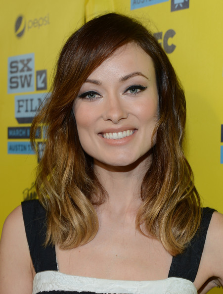 Olivia Wilde Nude Lipstick [the incredible burt wonderstone,hair,face,hairstyle,eyebrow,blond,chin,beauty,brown hair,long hair,hair coloring,incredible burt wonderstone,olivia wilde,paramount theatre,austin,texas,red carpet arrivals,sxsw music,film interactive festival,screening]