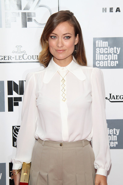 Olivia Wilde Button Down Shirt