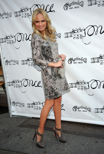More Pics of Kristin Chenoweth Strappy Sandals (1 of 14) - Kristin Chenoweth Lookbook - StyleBistro