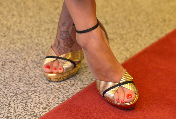 More Pics of Valeria Bilello Evening Sandals (1 of 16) - Valeria Bilello Lookbook - StyleBistro