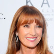Jane Seymour's Long Straight Cut with Bangs