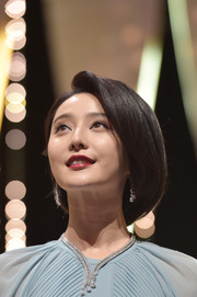 Fan Bingbing sported a perfect bob at the 2017 Cannes Film Festival opening ceremony.