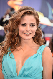 Giulia Electra Goretti looked gorgeous with her flowing waves at the Venice Film Festival opening ceremony.