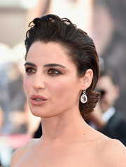 Luisa Ranieri topped off her look with a punk-glam pompadour chignon when she attended the Venice Film Festival opening ceremony.