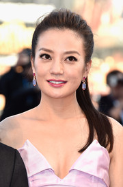 Zhao Wei kept it laid-back and youthful with this ponytail at the Venice Film Festival opening ceremony.