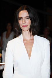 Rebecca Hall showed off a perfectly styled bob at the Venice Film Festival opening ceremony dinner.