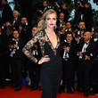 Cara Delevingne in Burberry at the Cannes Film Festival