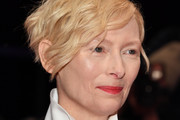 Tilda Swinton Short Wavy Cut