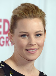 Elizabeth Banks wore her hair in a casual pompadour when she attended the opening of 'Hedwig and the Angry Inch.'