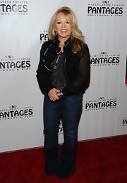 Charlene Tilton pulled off a pair of boot cut jeans at a Beatles tribute.