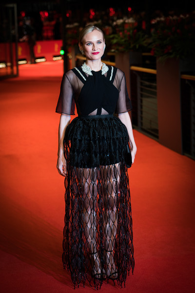 More Pics of Diane Kruger Sheer Dress (1 of 72) - Dresses & Skirts Lookbook - StyleBistro [the operative premiere,image,clothing,fashion,fashion model,dress,hairstyle,fashion design,haute couture,flooring,formal wear,carpet,diane kruger,filters,berlinale palace,berlin,germany,the operative,berlinale international film festival,premiere]
