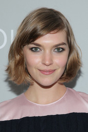 Arizona Muse wore a cute and breezy bob at the 'Dior and I' screening.