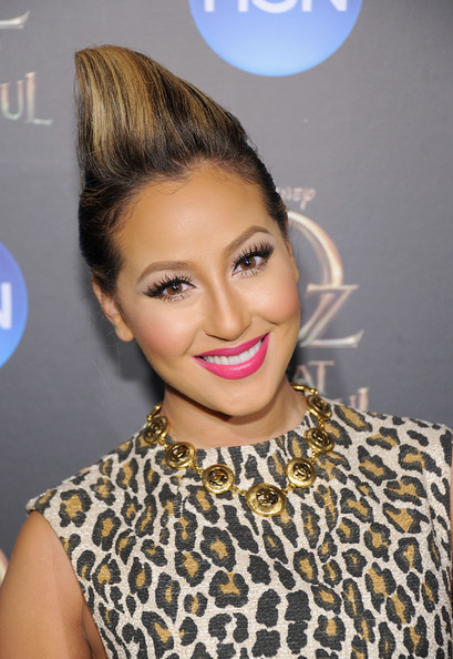 More Pics of Adrienne Bailon Print Dress (1 of 3) - Adrienne Bailon Lookbook - StyleBistro
