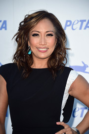 Carrie Ann Inaba looked stunning in these Maryam Shahbazi drop earrings.