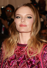 Kate Bosworth chose a super shiny pink gloss to bring out the pink in her cheeks at the Met Gala.