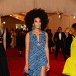 Solange Knowles in Blue Print