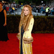 Mary-Kate Olsen in a Silk Robe