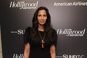 Padma Lakshmi Fitted Blouse