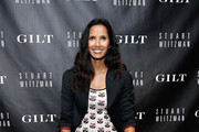 Padma Lakshmi Knee High Boots