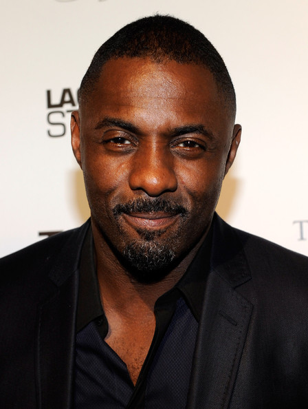 More Pics of Idris Elba Blazer (1 of 8) - Idris Elba Lookbook - StyleBistro