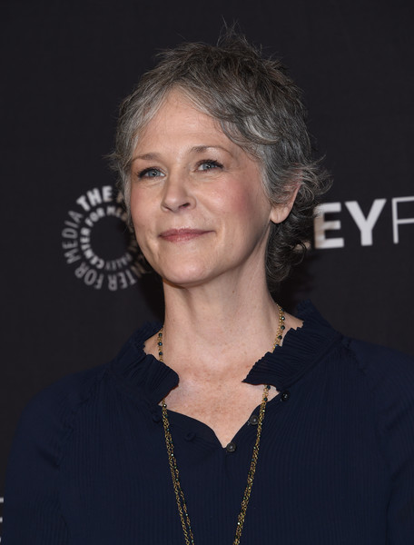 More Pics of Melissa McBride Messy Cut (1 of 4) - Short Hairstyles Lookbook - StyleBistro [the walking dead,photo,hair,face,hairstyle,chin,premiere,smile,official,arrivals,melissa mcbride,red carpet,los angeles,hollywood,paley center for media,paleyfest,opening night presentation]