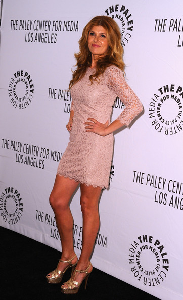 More Pics of Connie Britton Platform Sandals (1 of 9) - Connie Britton Lookbook - StyleBistro