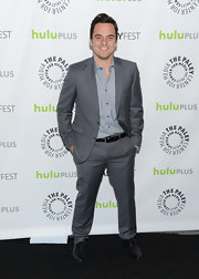 Jake Johnson stuck to a more sophisticated and sleek look with this gray suit, which he wore for PaleyFest.