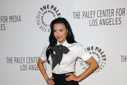 Actress Naya Rivera arrives at the Paley Center for Media's Paleyfest 2011 Event honoring