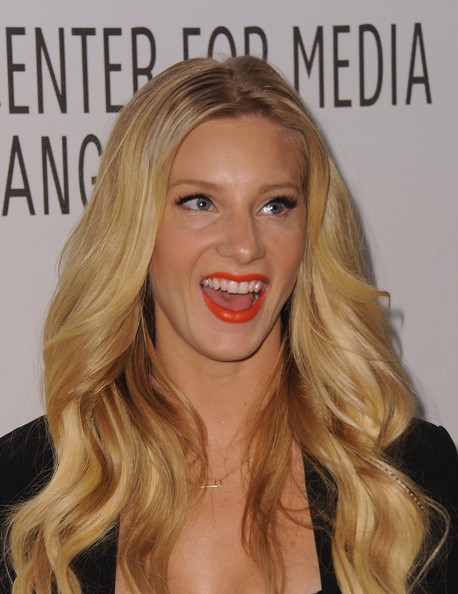 More Pics of Heather Morris Bright Lipstick (5 of 21) - Heather Morris Lookbook - StyleBistro [glee,hair,blond,lip,face,hairstyle,facial expression,eyebrow,long hair,chin,beauty,paleyfest 2011,heather morris,beverly hills,california,saban theatre,paley center for media,event]