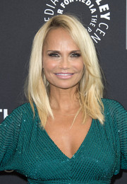 Kristin Chenoweth showed off a trendy layered cut at the Paley Center press preview of 'You Can't Stop the Beat: The Art and Artistry of Hairspray Live!'