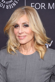 Judith Light sported a chic wavy hairstyle at the Paley Honors: Celebrating Women in Television event.