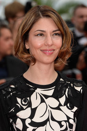 Sofia Coppola hit the Cannes red carpet wearing this cute curled-out bob.