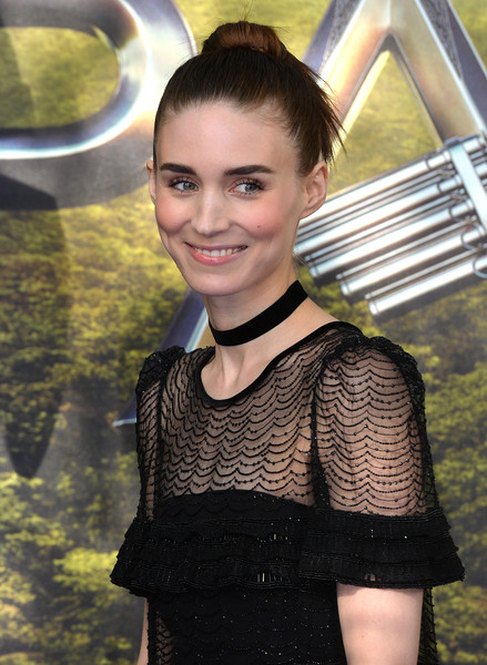 More Pics of Rooney Mara Evening Dress (1 of 6) - Rooney Mara Lookbook - StyleBistro [hair,beauty,hairstyle,fashion,smile,fawn,red carpet arrivals,pan,rooney mara,england,london,odeon leicester square,world premiere]