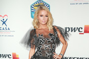 Paris Hilton Sheer Dress