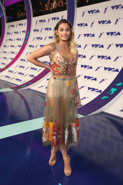 Paris Jackson Sheer Dress