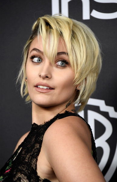Paris Jackson Layered Razor Cut
