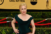 Patricia Arquette Off-the-Shoulder Dress