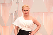 Patricia Arquette One Shoulder Dress
