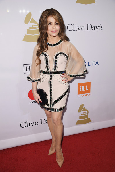 Paula Abdul Beaded Dress