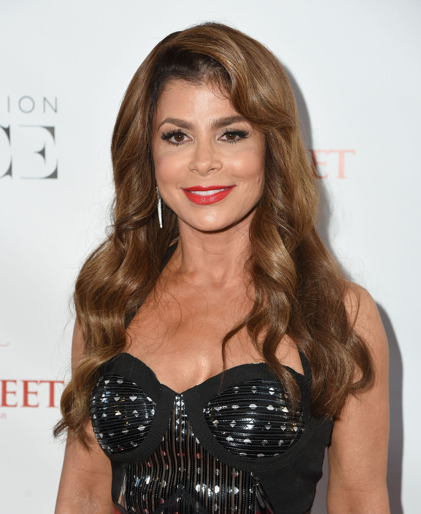 Paula Abdul Long Wavy Cut With Bangs Paula Abdul Looks