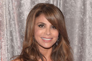 Paula Abdul Long Wavy Cut with Bangs